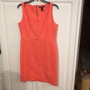Kenneth Cole melon colored dress